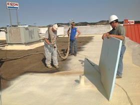 Learning SPF Roofing