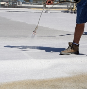 White Roof Coatings Versus White Paint