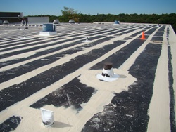 seamless roofing system install