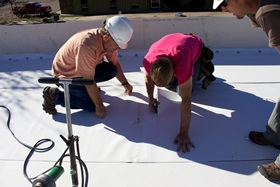 roof contractor support
