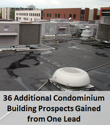 commercial roofing lead example