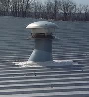 metal roof repair example
