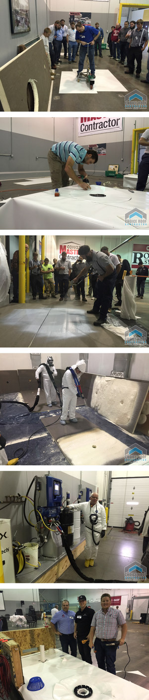 commercial roofing training