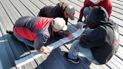 metal roof coating training