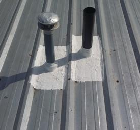 metal roof repair company example