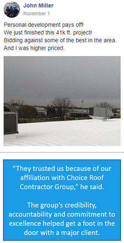 commercial roofing post